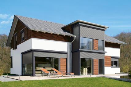 Hausfassade modernisieren  rolladen rauhut rollladen